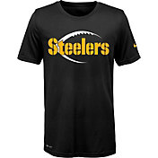 Nike Youth Pittsburgh Steelers Legend Icon Performance Black T-Shirt