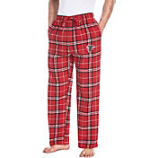 Concepts Sport Men's Atlanta Falcons Huddle Flannel Pants