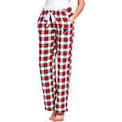 Concepts Sport Women's Atlanta Falcons Forge Fleece Flannel Pants