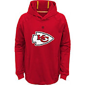 NFL Team Apparel Youth Kansas City Chiefs Mach Pullover Hoodie