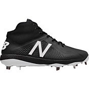 New Balance Men's 4040 V4 Mid Metal Synthetic Baseball Cleats