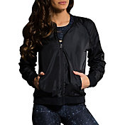 Onzie Women's Black Bomber Jacket