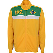 Outerstuff Youth Brazil Yellow Track Jacket