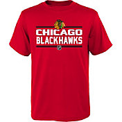 NHL Youth Chicago Blackhawks Epitome Red T-Shirt