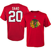 NHL Youth Chicago Blackhawks Brandon Saad #20 Red T-Shirt