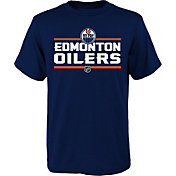 NHL Youth Edmonton Oilers Epitome Royal T-Shirt