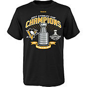 Reebok Youth 2017 NHL Stanley Cup Champions Pittsburgh Penguins Big Trophy T-Shirt