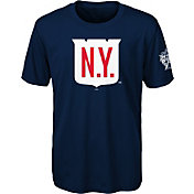 NHL Youth 2018 Winter Classic New York Rangers Crest Navy Performance T-Shirt