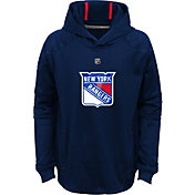 NHL Youth New York Rangers Mach Royal Pullover Hoodie