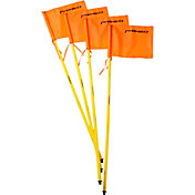PRIMED Soccer Training Sticks and Corner Flags - 4 Pack