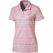 PUMA Women's Watercolor Golf Polo
