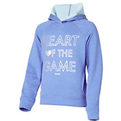 Reebok Girls' Performance Fleece Heart Of The Game Graphic Hoodie