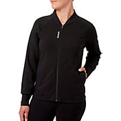 Reebok Women's Stretch Cotton Bomber Jacket