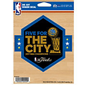 Rico 2017 NBA Finals Champions Golden State Warriors Die-Cut Decal