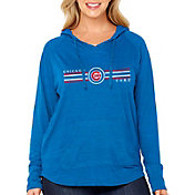 Soft As A Grape Women's Chicago Cubs Hoodie