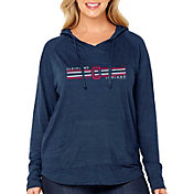 Soft As A Grape Women's Cleveland Indians Hoodie