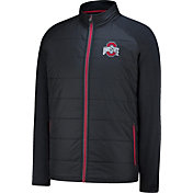 Scarlet & Gray Men's Ohio State Buckeyes Black Exosphere Jacket
