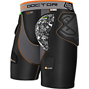Shock Doctor Youth Ultra ShockSkin Hockey Shorts w/ AirCore Hard Cup