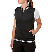 Slazenger Women's Structure Collection Bomber Golf Vest