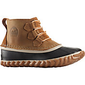 SOREL Kids' Out N About Lace Waterproof Winter Boots