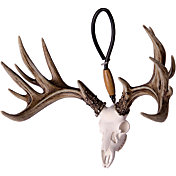 Big Rack Whitetail Skull Figurine