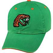 Top of the World Men's Florida A&M Rattlers Green Crew Adjustable Hat