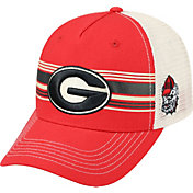 Top of the World Men's Georgia Bulldogs Red/White Sunrise Adjustable Snapback Hat