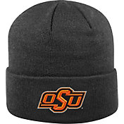 Top of the World Men's Oklahoma State Cowboys Black Cuff Knit Beanie