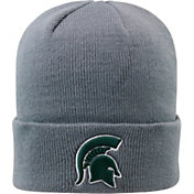 Top of the World Men's Michigan State Spartans Grey Cuff Knit Beanie
