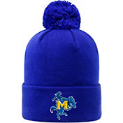 Top of the World Men's McNeese State Cowboys Royal Blue Pom Knit Beanie