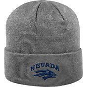 Top of the World Men's Nevada Wolf Pack Grey Cuff Knit Beanie