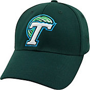 Top of the World Men's Tulane Green Wave Olive Premium Collection M-Fit Hat
