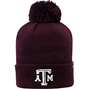 Top of the World Men's Texas A&M Aggies Maroon Pom Knit Beanie