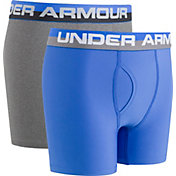 Under Armour Boys' Solid Performance Boxer Briefs – 2 Pack