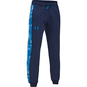 Under Armour Boys' Threadborne Fleece Printed Jogger Pants