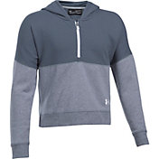Under Armour Girls Threadborne Fleece Ridge Hoodie