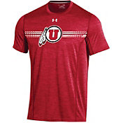 Under Armour Men's Utah Utes Crimson Training T-Shirt