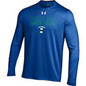 Under Armour Men's Texas A&M-Corpus Christi Islanders Blue UA Tech Performance Long Sleeve Shirt