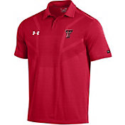 Under Armour Men's Texas Tech Red Raiders Red Tour Polo