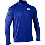 Under Armour NFL Combine Authentic Men's New York Giants Tech Novelty Royal Quarter-Zip Pullover