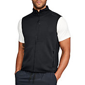 Under Armour Men's Unstoppable Textured Full Zip Vest
