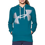 Under Armour Women's Favorite Fleece Exploded Logo Pullover