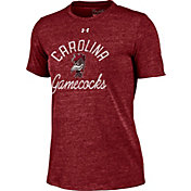 Under Armour Women's South Carolina Gamecocks Garnet Crew Tri-Blend T-Shirt