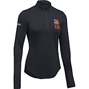 Under Armour NFL Combine Authentic Women's Cincinnati Bengals Favorites Half-Zip Black Pullover