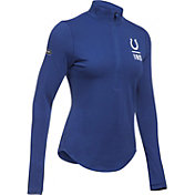 Under Armour NFL Combine Authentic Women's Indianapolis Colts Favorites Half-Zip Blue Pullover