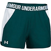 Under Armour Women's Play Up Mesh Inset Shorts