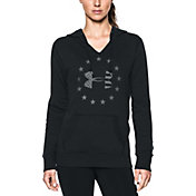 Under Armour Women's Freedom Logo Favorite Fleece Hoodie