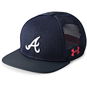 Under Armour Youth Atlanta Braves Twist Knit Adjustable Snapback Hat