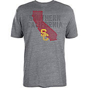 USC Authentic Apparel Men's USC Trojans Grey Solo State T-Shirt