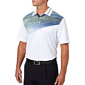 Walter Hagen Men's Departure Multi Chest Print Golf Polo